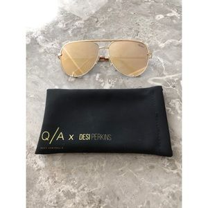 Quay x Desi Perkins High Key Sunglasses